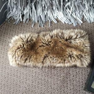 Women winter faux fur head band